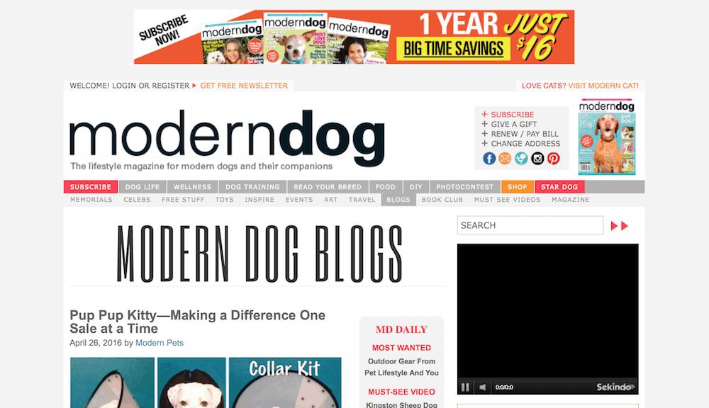 websites for dog lovers