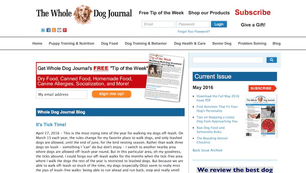 good dog blogs